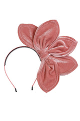 Five Petals Velvet Headband - Rose - PROJECT 6, modest fashion