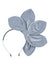 Five Petals Velvet Headband - Antique Blue - PROJECT 6, modest fashion