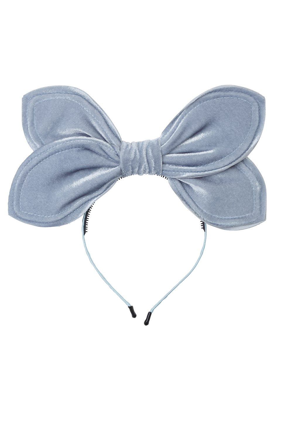 Growing Orchid Velvet Headband - Antique Blue - PROJECT 6, modest fashion