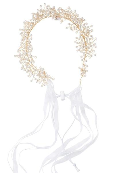 Clustered Wreath - Pearls - PROJECT 6, modest fashion