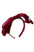 Heather Satin Headband - Wine - PROJECT 6, modest fashion