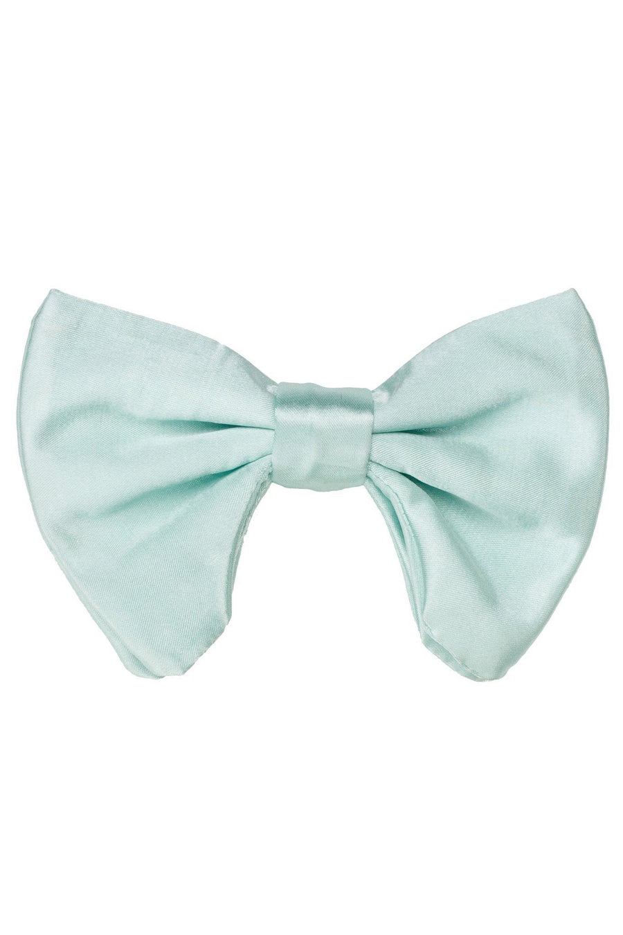 Avant Garde Bowtie - Mint Satin - PROJECT 6, modest fashion