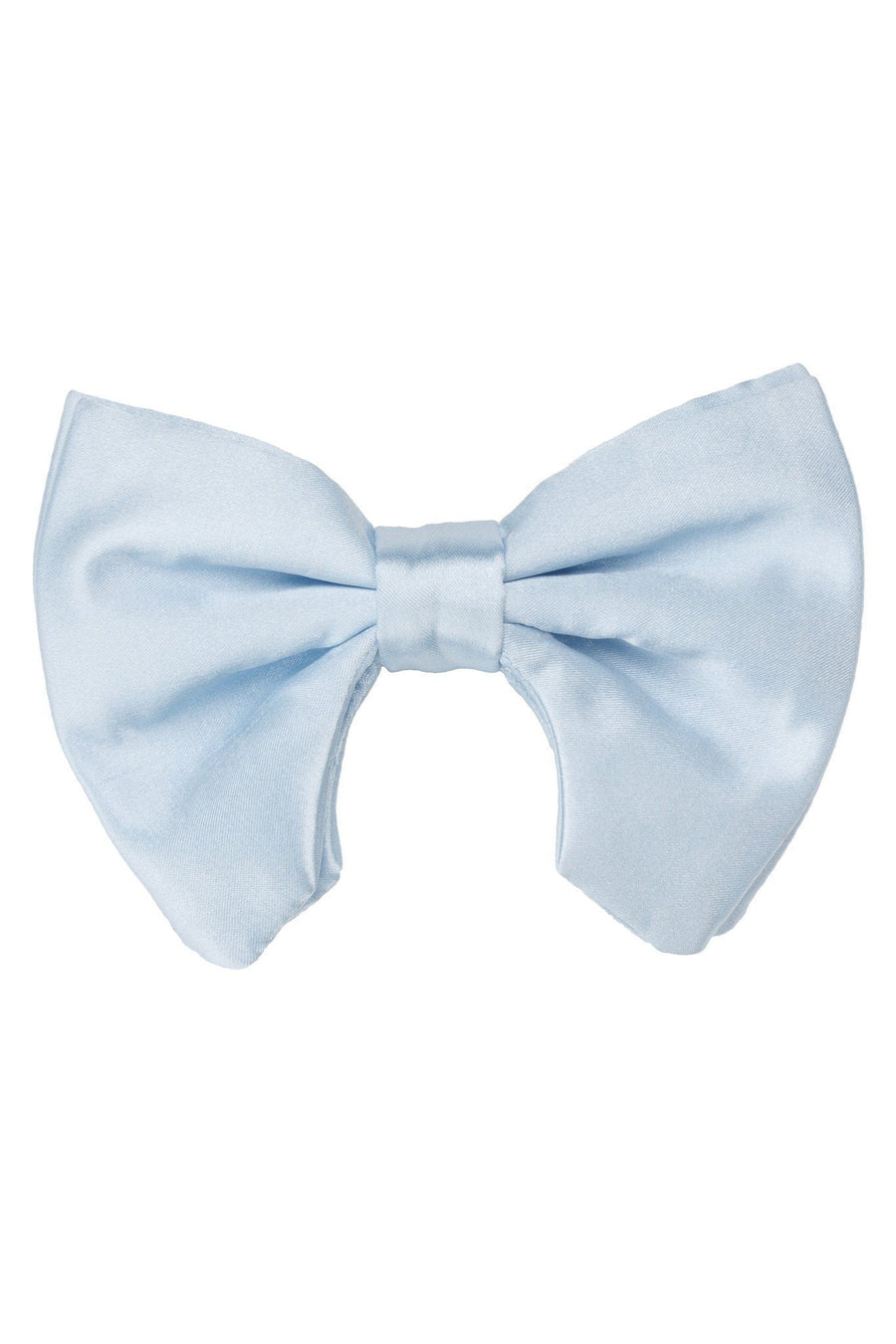 Avant Garde Bowtie - Light Blue Satin - PROJECT 6, modest fashion