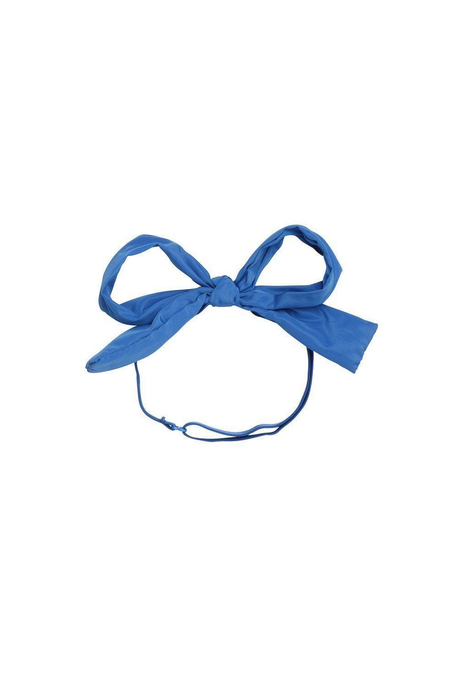 Party Bow Taffeta Wrap - Royal Blue - PROJECT 6, modest fashion