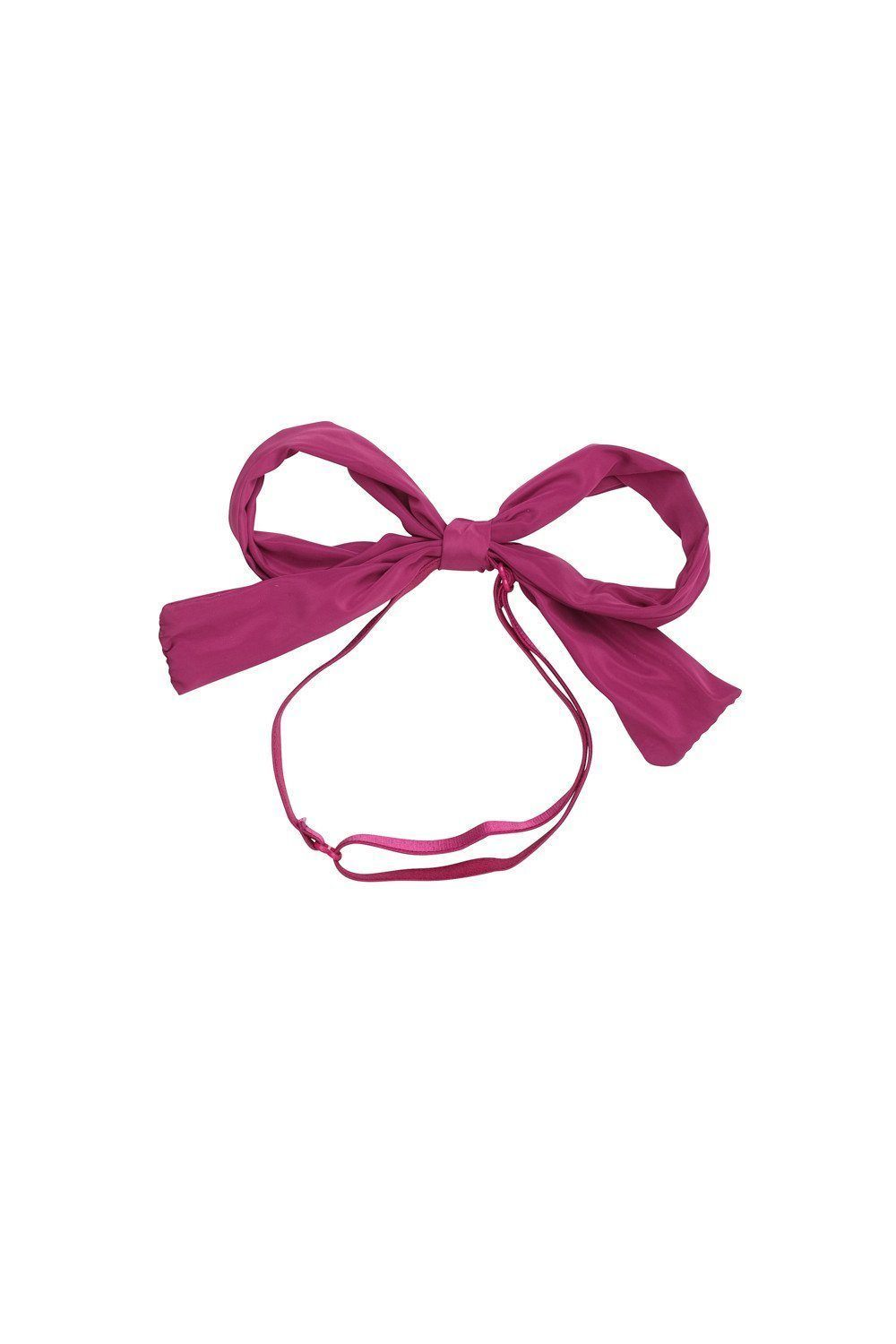 Party Bow Taffeta Wrap - Raspberry - PROJECT 6, modest fashion