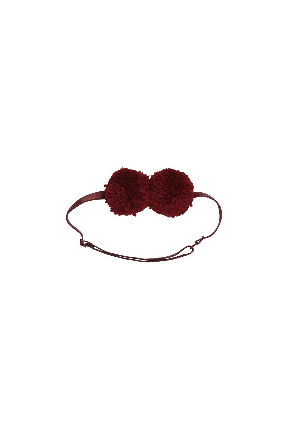 Yarn Pom Pom Baby - Burgundy - PROJECT 6, modest fashion