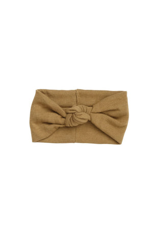 Knot Wrap - Gold Olive Wool - PROJECT 6, modest fashion