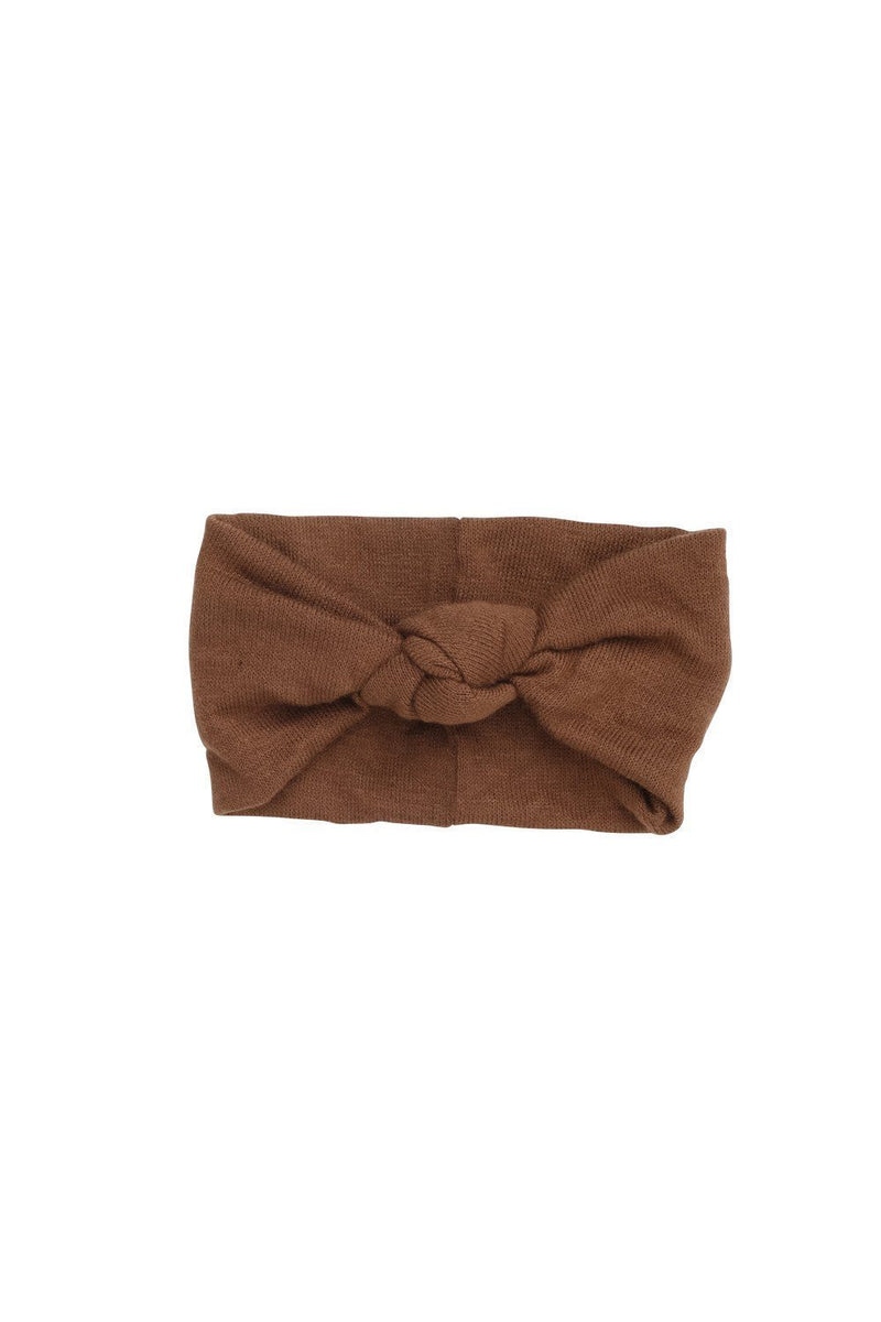 Knot Wrap - Khaki Brown Wool - PROJECT 6, modest fashion
