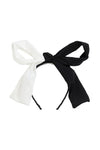 Sia Headband - White/Black - PROJECT 6, modest fashion