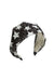 Sequin Star Headband - Black/White - PROJECT 6, modest fashion