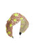 Sequin Star Headband - Nude/Yellow - PROJECT 6, modest fashion