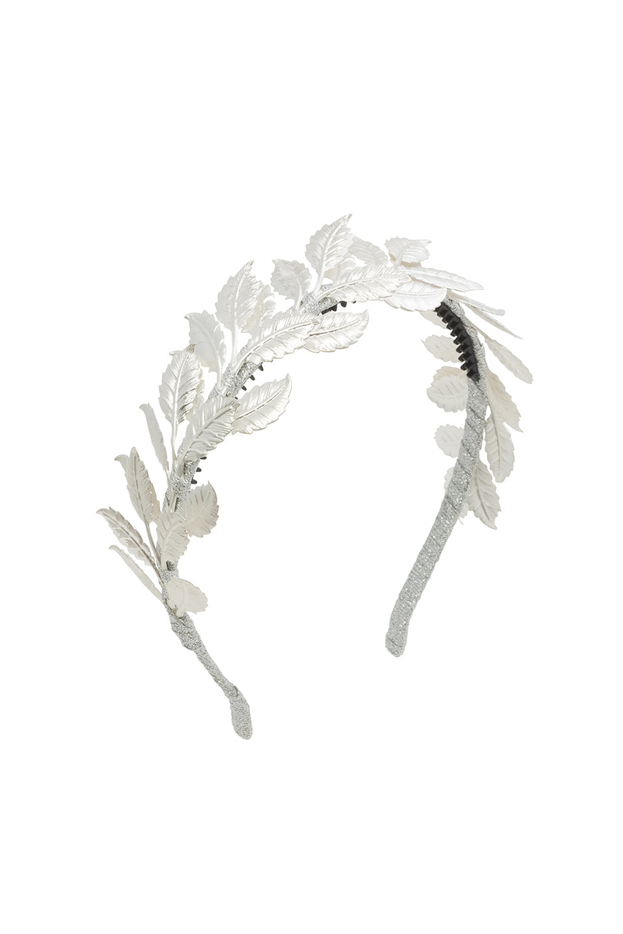 Athens Princess Headband - Silver