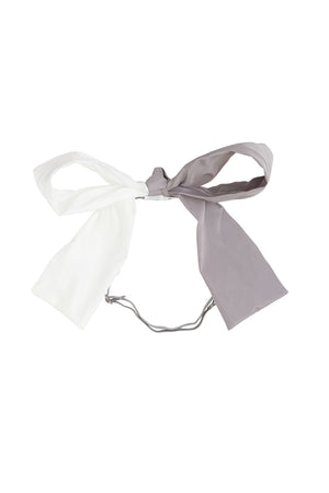 Sia Wrap - White/Grey - PROJECT 6, modest fashion
