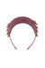 Rainbow Leather Headband - Raspberry - PROJECT 6, modest fashion