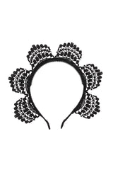 Rising Princess Headband - Black - PROJECT 6, modest fashion