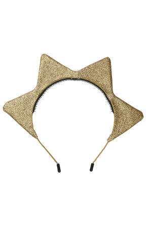 Rising Sun Headband - Gold Glitter