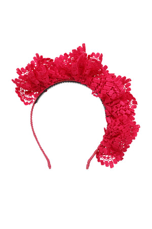 Royal Subject Headband - Hot Pink
