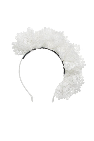 Royal Subject Headband - White