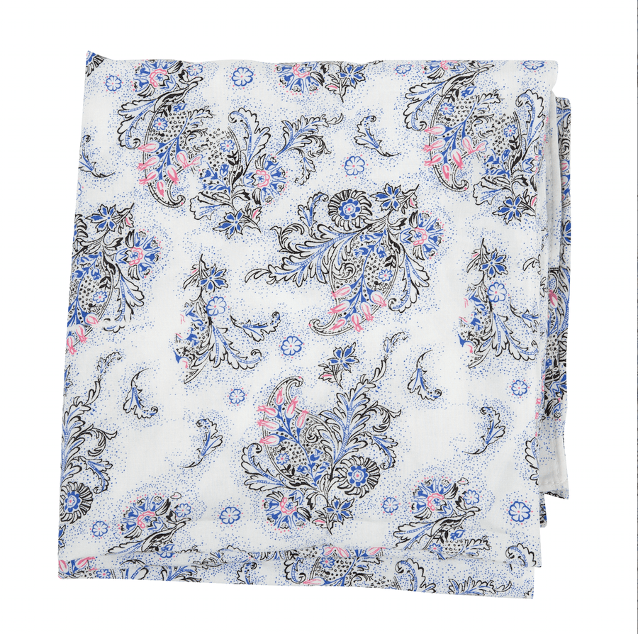 Itan Scarf - Cobalt/Multi - PROJECT 6, modest fashion