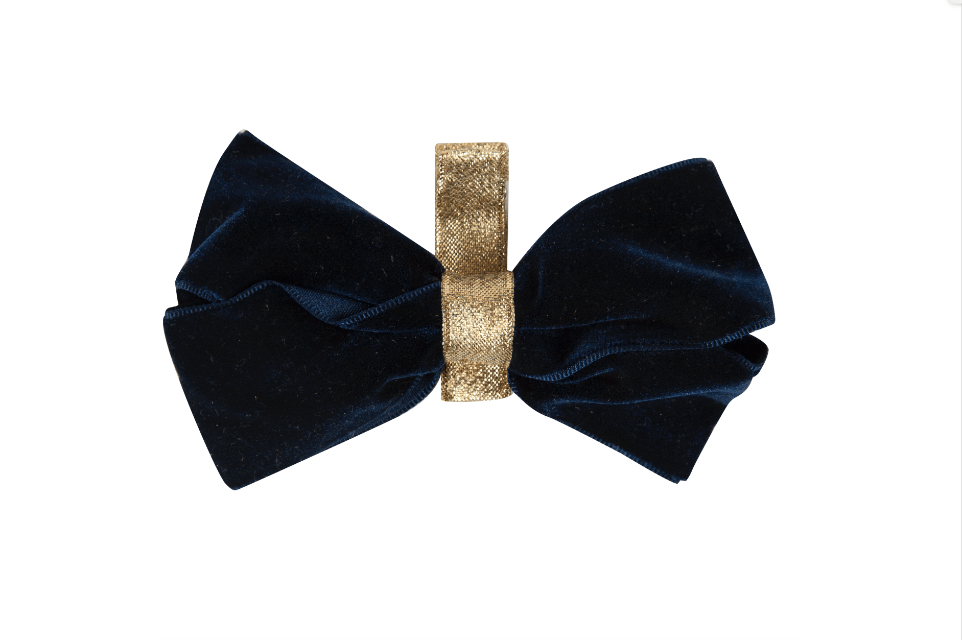 Heather Velvet Clip - Navy/Silver - PROJECT 6, modest fashion