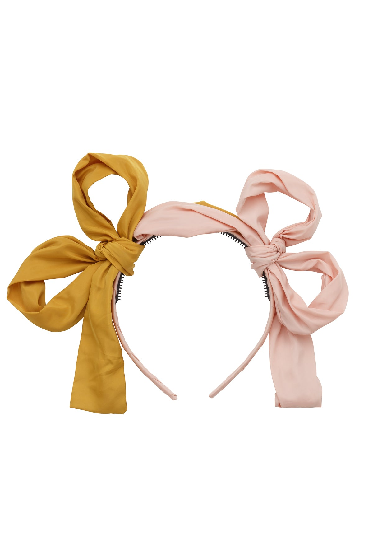Side By Side Party Bow - Blush/Mustard - PROJECT 6, modest fashion