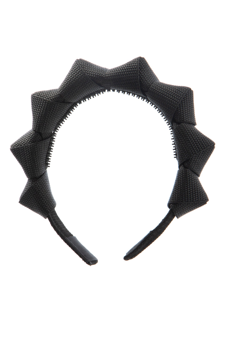 Skater Girl Headband - Black - PROJECT 6, modest fashion