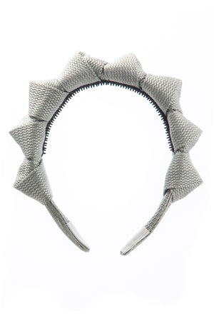 Skater Girl Headband - Silver - PROJECT 6, modest fashion