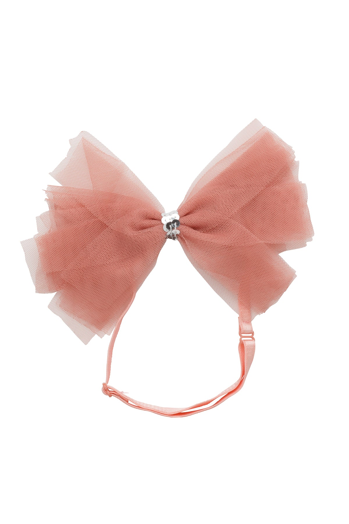 Soft Tulle Strips CLIP + WRAP - Coral - PROJECT 6, modest fashion
