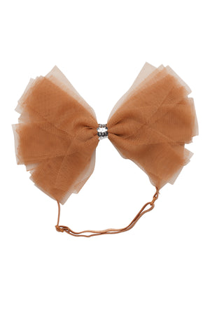 Soft Tulle Strips CLIP + WRAP - Rust