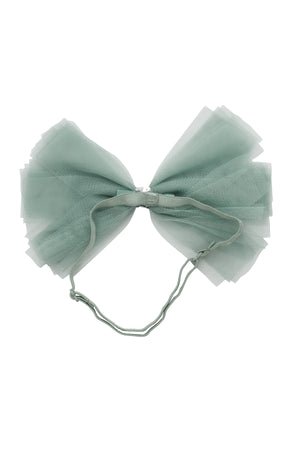 Soft Tulle Strips CLIP + WRAP - Smokey Green
