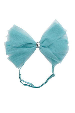 Soft Tulle Strips CLIP + WRAP - Turquoise
