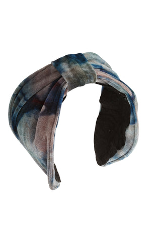 Turban Headband - Blush/Aqua/Navy - PROJECT 6, modest fashion