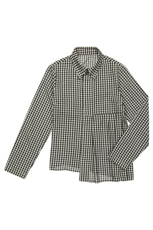 WELSCH - Gingham Check Poplin - PROJECT 6, modest fashion