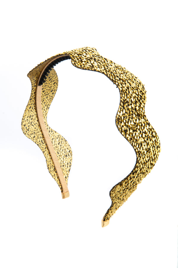 Ziggy Headband - Gold - PROJECT 6, modest fashion