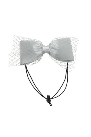Avant Garde Bow Petit - Light Silver - PROJECT 6, modest fashion