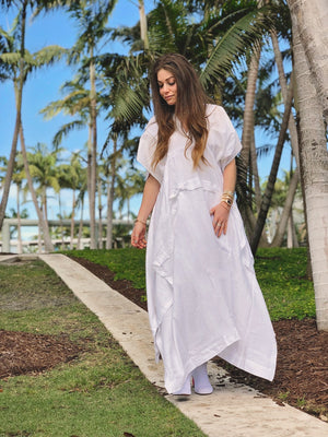 Juro - White - PROJECT 6, modest fashion