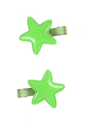 Star Clip - Bright Green - PROJECT 6, modest fashion