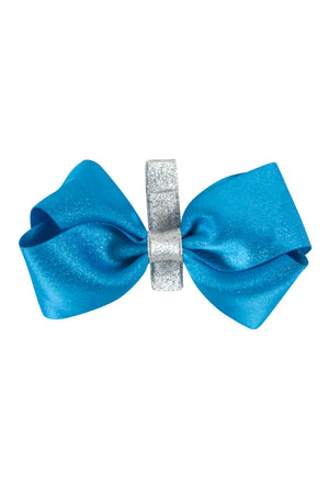 Heather Sparkle Clip - Bright Blue - PROJECT 6, modest fashion