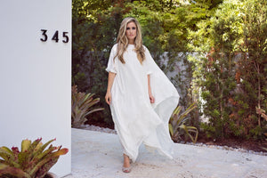 Momo - Ivory Silk - PROJECT 6, modest fashion
