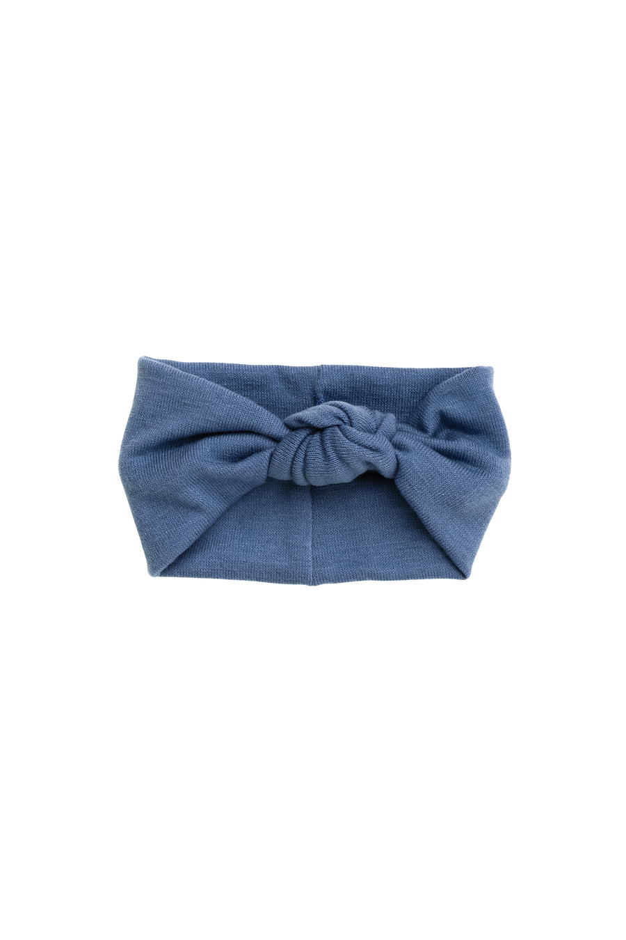Knot Wrap - Antique Blue Wool - PROJECT 6, modest fashion