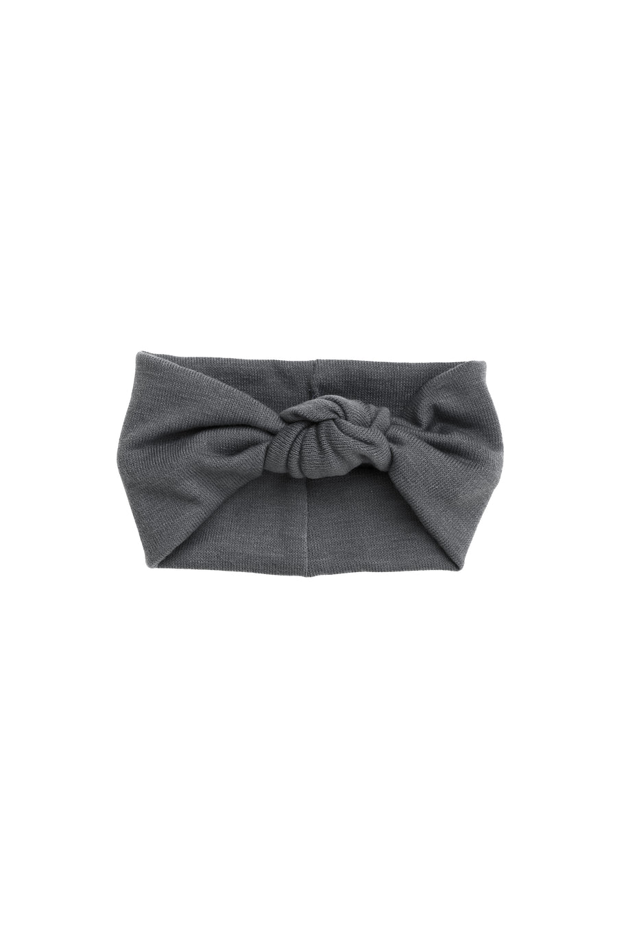 Knot Wrap - Grey Wool