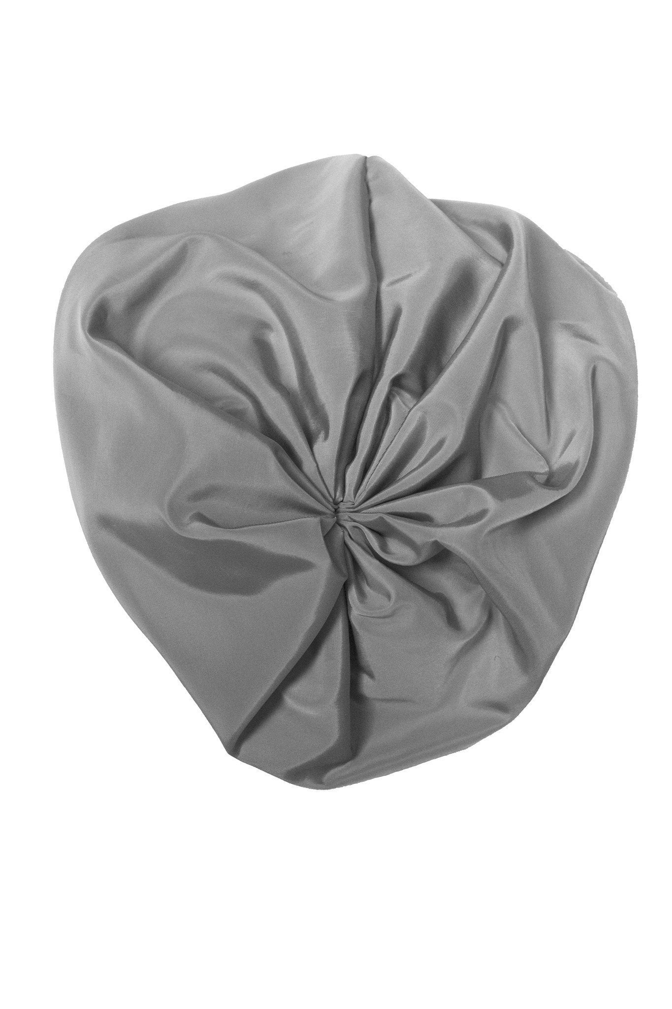 Petit Hat - Grey Taffeta - PROJECT 6, modest fashion