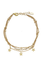 Crystal Star Searcher Charm Anklet