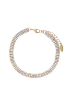 Unexpected Sparkle Anklet Set