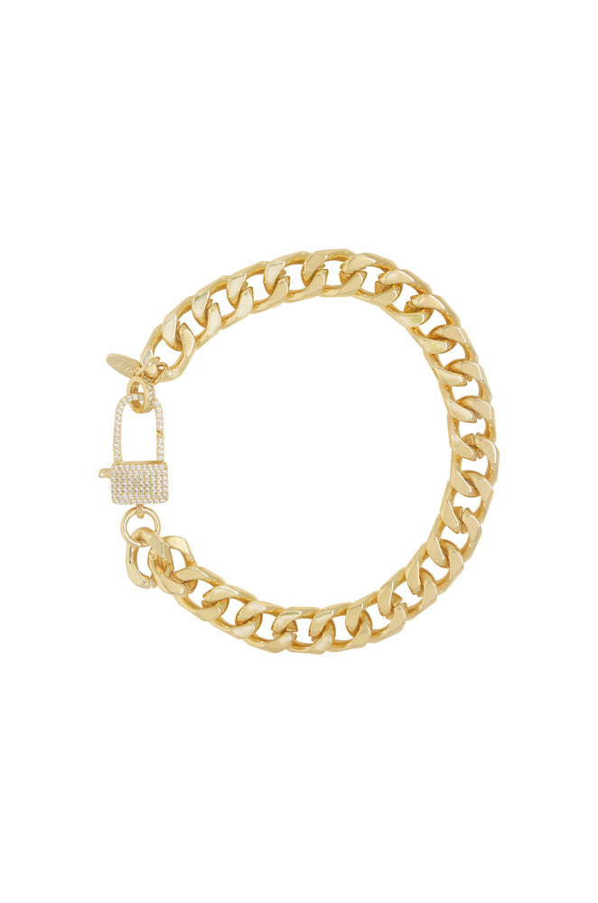 Best Of The Best 18k Gold Plated Link Anklet