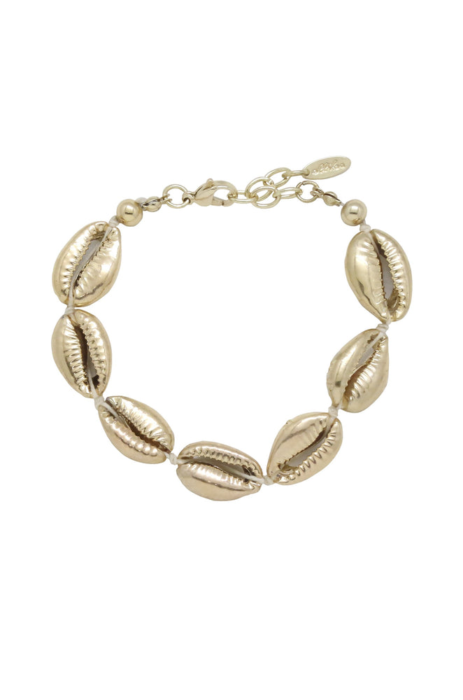 Seven Seas Gold Shell Bracelet
