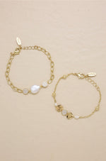 Duchess Pearl 18k Gold Plated Bracelet Set