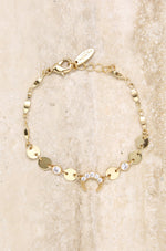 Luck on your Side Crystal Bracelet