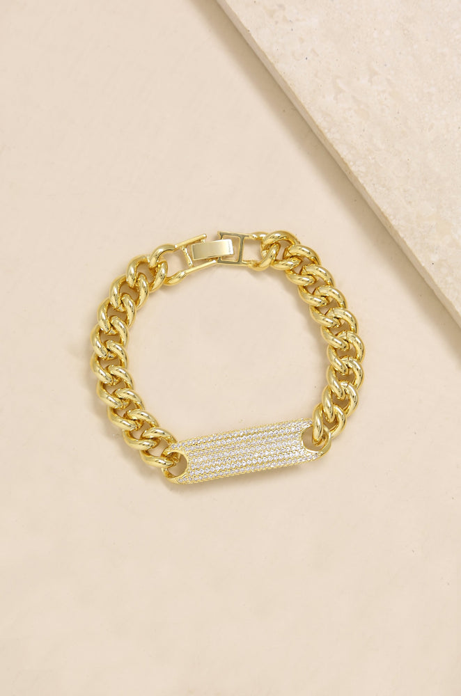 Bold & Righteous 18k Gold Plated Bracelet