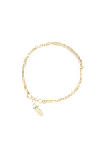 Subtle Statements 18k Gold Plated Bracelet